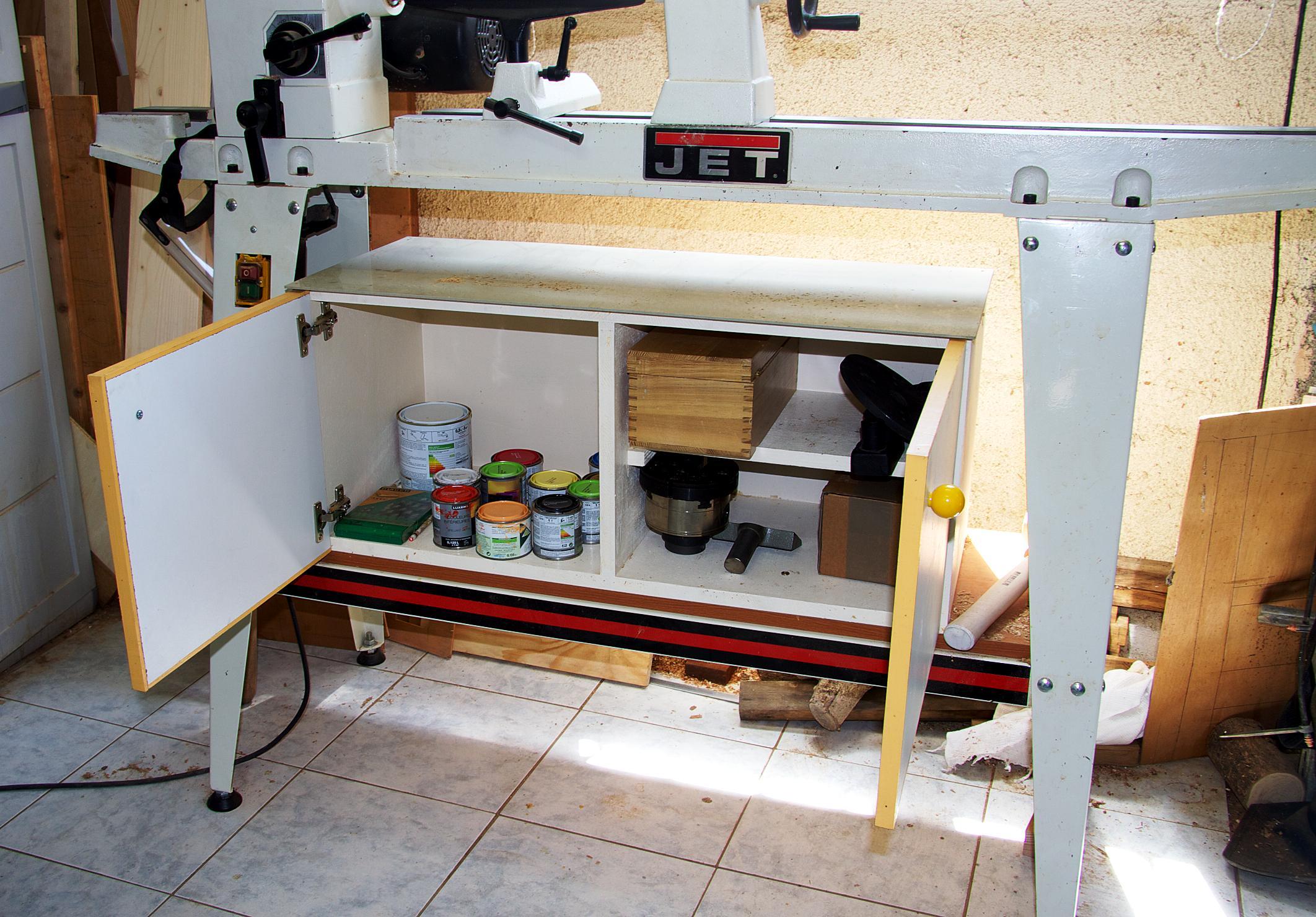 Ateliers des lecteurs l 39 espace tournage de claude for Assemblage de meuble en bois