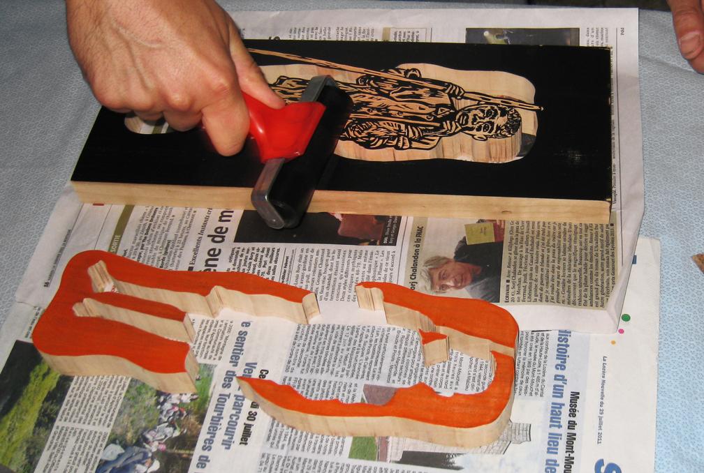 La gravure sur bois  dautres gravures  Bois+ Le Bouvet ~ Gravure Prenom Sur Bois