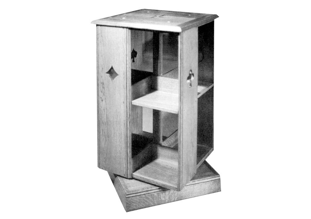 une biblioth que anglaise bois le bouvet. Black Bedroom Furniture Sets. Home Design Ideas