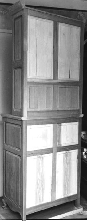 un petit vaisselier bois le bouvet. Black Bedroom Furniture Sets. Home Design Ideas