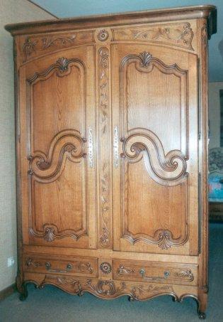armoire bois le bouvet. Black Bedroom Furniture Sets. Home Design Ideas