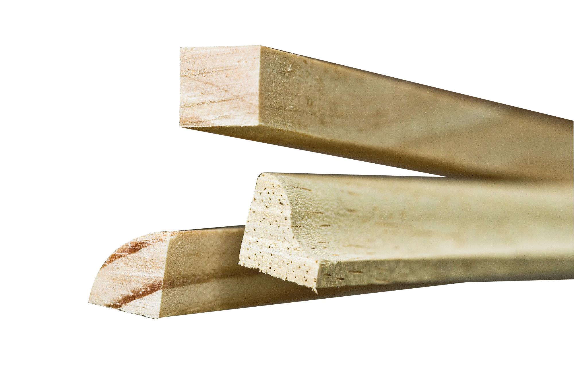 Parclose bois le bouvet for Parclose fenetre bois
