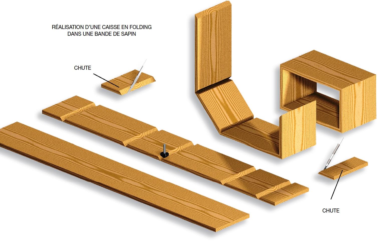 folding bois le bouvet. Black Bedroom Furniture Sets. Home Design Ideas
