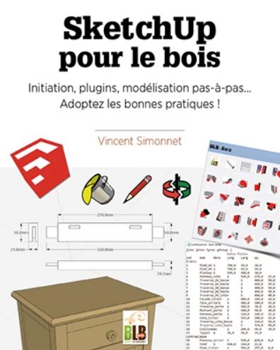 """Livre """"SketchUp pour le bois"""""""
