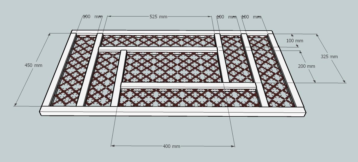 les moucharabiehs mesures et photos bois le bouvet. Black Bedroom Furniture Sets. Home Design Ideas