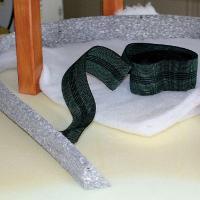 La tapisserie de sièges : une méthode moderne, un pouf