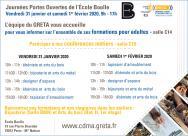 École Boulle portes ouvertes janvier 2020, participation du GRETA CDMA