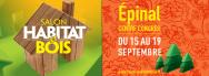 """Salon """"Habitat & Bois"""" d'Épinal, du 15 au 19 septembre 2016"""