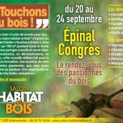 Salon « Habitat & Bois », Épinal, 20-24 septembre 2018