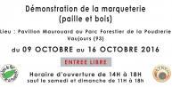 Exposition de marqueterie par l'association Atrema, à Vaujours (93)