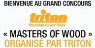 Jeu concours Triton : Masters of Wood