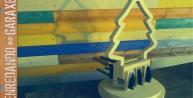 Fabricando árbol de navidad lámpara parte 1