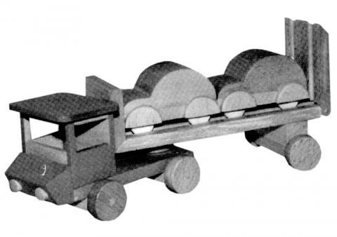 un camion transport de voitures bois le bouvet. Black Bedroom Furniture Sets. Home Design Ideas