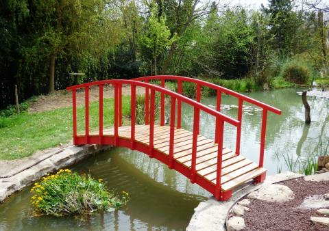 Un petit pont japonais