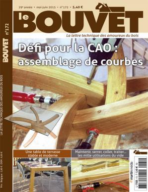 Le Bouvet 172 Défi pour la CAO : assemblage de courbes