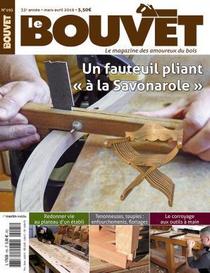 """Le Bouvet n°195 Un fauteuil pliant """"à la Savonarole"""""""