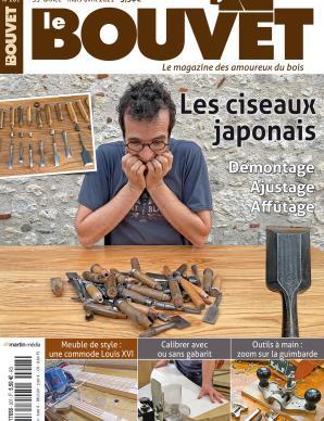 Le Bouvet n°207 – Les ciseaux japonais. Démontage, ajustage, affûtage