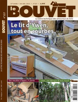 Le bouvet n 157 bois le bouvet for Plan construction lit bois