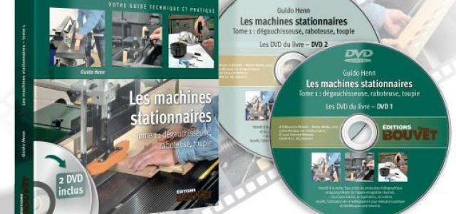 """Livre """"Machines stationnaires, tome 1 : dégauchisseuse, raboteuse, toupie"""", de Guido Henn"""
