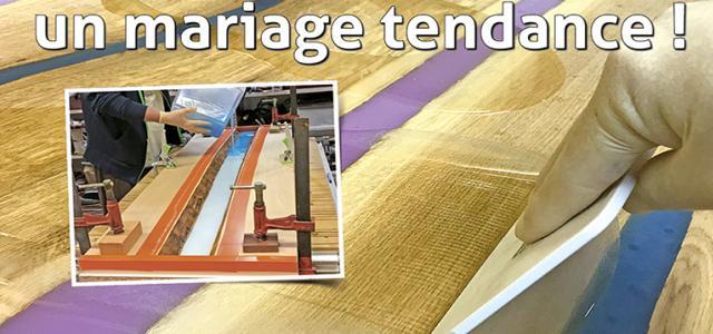Le Bouvet n°202 – Résine et bois, un mariage tendance !