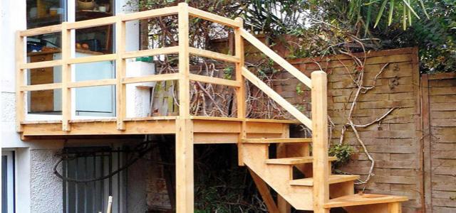 Le Bouvet n°185 Terrasse, escalier : un duo à la hauteur
