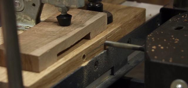 Vidéo : le mortaisage à la combinée, partie 2