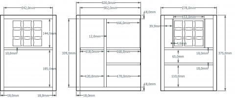 Aménagement intérieur du coffre-cabinet 2