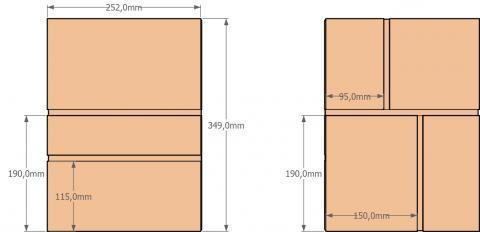 Aménagement intérieur du coffre-cabinet 3