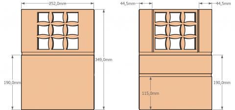 Aménagement intérieur du coffre-cabinet 4