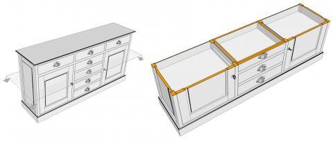 Coupe-horizontale-portes-tiroir-bahut