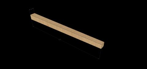 Dégau-rabo, travaux spéciaux : fabrication de chevilles