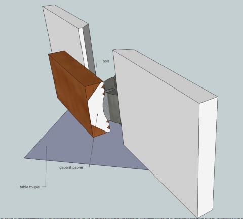 fabriquer et installer une corniche partir de ses fers bois le bouvet. Black Bedroom Furniture Sets. Home Design Ideas