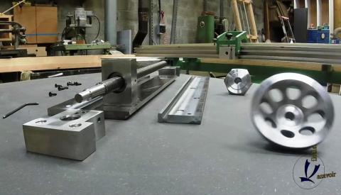 Travail du métal : fabriquer une presse d'établi, les pièces