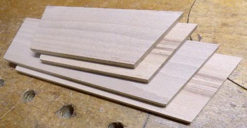 Un petit cabasson - Les côtés après corroyage et découpe