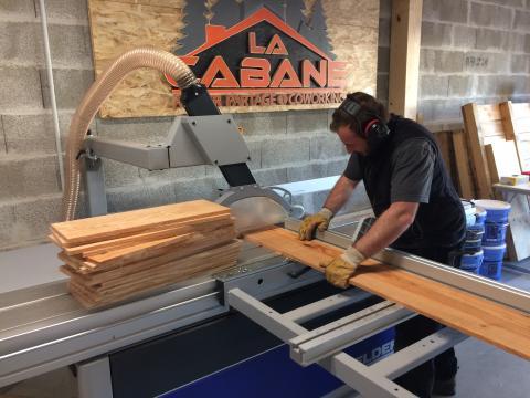 """Association """"La Cabane"""" (33), machines"""