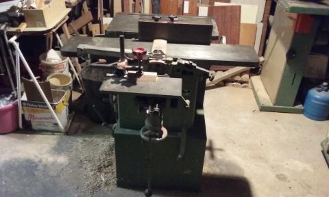 Combinée à bois Signal C210 5 opérations
