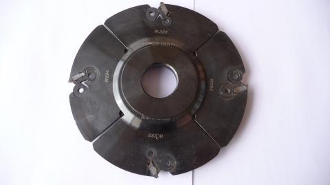 Porte-outils à rainurer Lomos-Oertli (pour toupie)