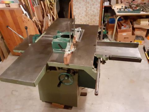 Combinée à bois 5 opérations Dugué 260 mm (poste toupie)