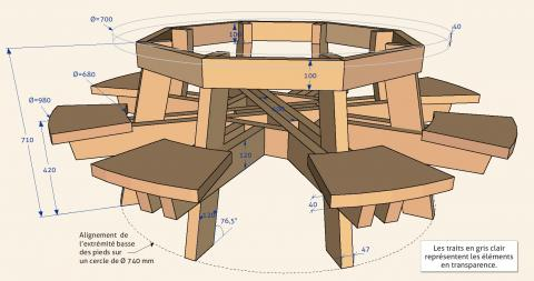 "Table ""satellite"", plan"