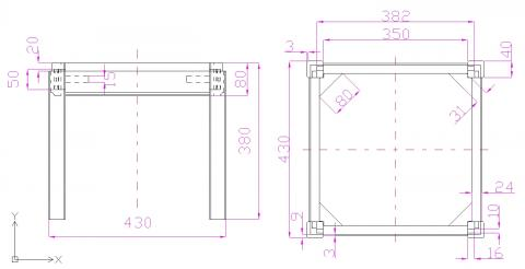 Tapisserie de sièges, la méthode moderne : un pouf (plans)