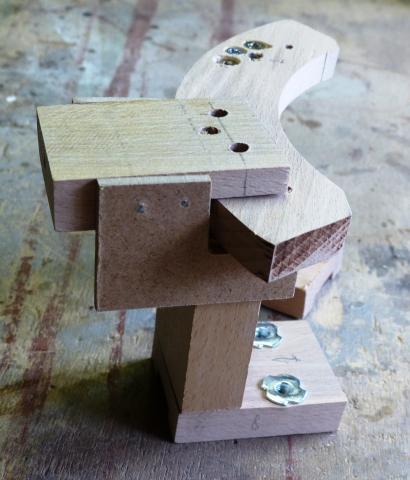 Tournage : un plateau de reprise adapté aux pièces profondes : assemblage