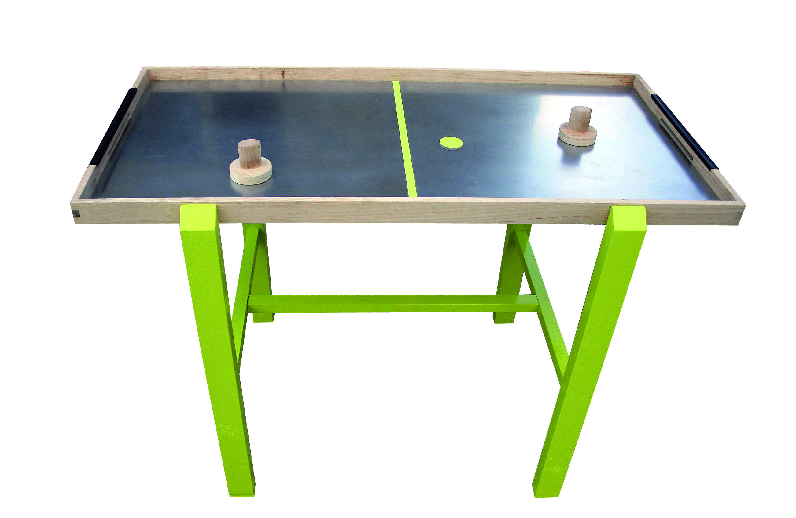Un jeu de hockey sur table bois le bouvet for Jeu des tables
